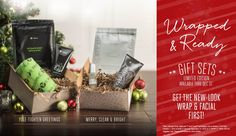 Say Merry Christmas with a limited time gift set from It Works! #MerryCleanBright #YuleTightenGreetings