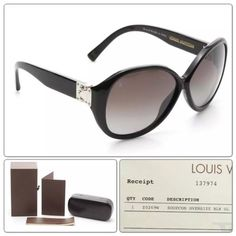 73f2a77cfa33 Louis Vuitton Black Shimmer Frame Oversized Soupcon Sunglasses Z0269W - 53%  Off Retail Suit Sale