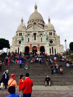 Sacre Couer Cathedral in Paris, France