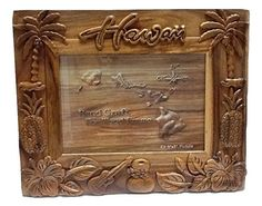 Find the biggest selection of Wall & Tabletop Frames from at the lowest prices. Ukulele Design, 5x7 Picture Frames, Hibiscus Flowers, Palm Trees, Christmas Decorations, Wood, Pineapple, Hawaii, Pictures