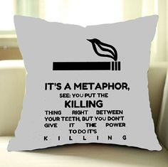 Metaphor the Fault in Our Stars Quote Good Print Pillow Cover for you