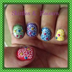 Skittle flowers!