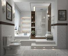 rangements / salle de bain moderne minimaliste