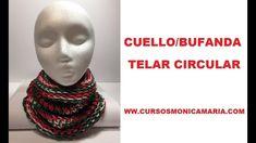 CUELLO BUFANDA NAVIDAD TELAR CIRCULAR // Tutorial paso a paso