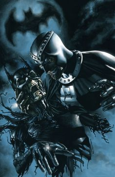 Black Lanterns - the grave of Batman with the Black Hand.