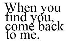 S'il te plait mon cœur, reviens moi vite... Mon cœur saigne sans toi...
