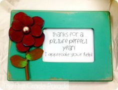 Picture Perfect EOY gift for parent volunteers