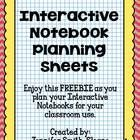 Are you ready to start planning your Interactive Notebook for your class?   This FREEBIE includes space for you to plan 199 pages of your Interacti...