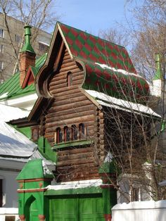 A dacha from the mountains North of the Batan Plain.
