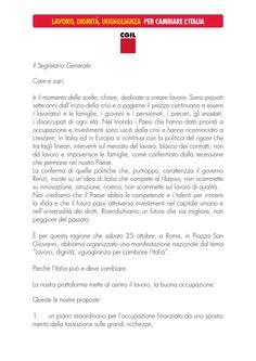 La Lettera DI Susanna Camusso agli Iscritti Cgil per  la Manifestazione Nazionale  del #25ottobre