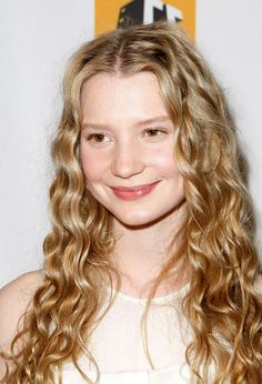 Mia Wasikowska - I was kind of distracted while watching Alice in Wonderland by Mia's hair...