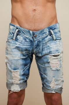 Nothing wrong with some jean shorts and they are even cooler if you made them
