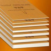 Schlüter KERDI Board - Underlayment, universal structural panel and bonded waterproofing.