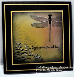 Dragonfly Birthday – Stampin' Up! Card
