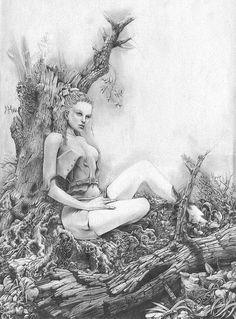 Beautiful Paintings by Michaël Zancan