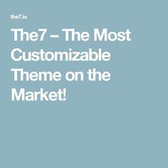 – The Most Customizable Theme on the Market! Creative Portfolio, Wordpress Theme, Marketing, Fotografia