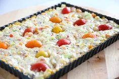 Älyttömän hyvä kasvisjuustopiirakka, munaton - Suklaapossu Pie, Bread, Desserts, Food, Torte, Postres, Tart, Fruit Cakes, Deserts