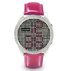 Reloj Phosphor Appear: Swarovski Rosa  http://www.tutunca.es/reloj-phosphor-appear-swarovski-rosa#