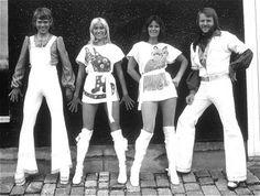 70s fashion-Abba