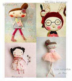 Pretty tiny dolls! knuffelsalacarteb...