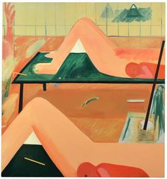 'Birthyard' by Gabriella Boyd, prizewinner at the John Moores Painting Prize…