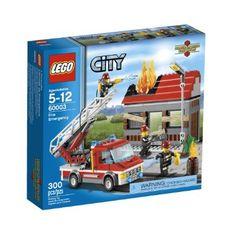 Amazon.com: LEGO City Fire Emergency 60003: Toys & Games $32