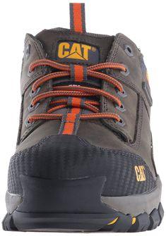 Amazon.com  Caterpillar Men s Navigator Waterproof Work Oxfordeel Toe, Dark  Gull Grey, 7 W US  Shoes d0d0a5bdc1a