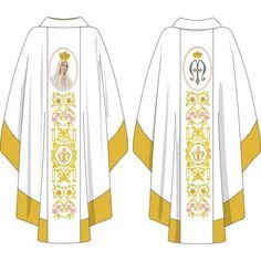Galo, Priest, Sacramento, Christianity, Kimono Top, Altar, 1, Embroidery, Fashion