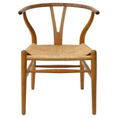 Check out this item at One Kings Lane! Wishbone Chairs by Hans Wegner, S/4