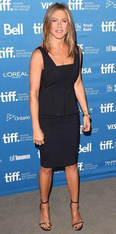 Jennifer Aniston's 32 Best Little Black Dresses Ever - September 9, 2014  - from InStyle.com