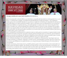 Mensaje Navideño del Santo Padre Benedicto XVI PARTEI III.  24 DE DICIEMBRE DEL VATICANO 2012.    †♠LOURDES MARIA†♠