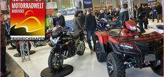 Saisonstart: Motorradwelt Bodensee 2014 Vom 24. - 26. Januar hielt die Motorradwelt Bodensee 2014 ihre Tore geöffnet. Über großes Interesse freuten sich die Quadhändler QC Zollernalb und Quadhouse http://www.atv-quad-magazin.com/aktuell/saisonstart-motorradwelt-bodensee-2014/