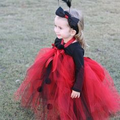 Lil Lady Bug Tutu Costume