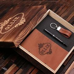 Cherry Wood Tie Bar Engraved in The USA Wooden Accessories Company Wooden Tie Clips with Laser Engraved Elysium Design