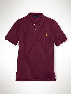 Classic-Fit Short-Sleeved Polo - Polos  Boys 8–20 - RalphLauren.com