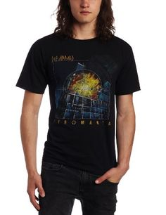 FEA Men's Def Leppard Short Sleeve T-Shirt - Listing price: $26.00 Now: $9.99