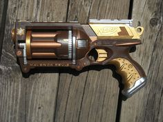 steampunk guns | Steampunk Nerf Gun by kira913 on DeviantArt