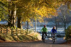 Autumn cycling in the Trough of Bowland, Lancashire. by visitlancashire.com, via Flickr