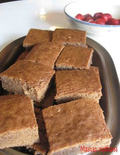 Maanan matkassa: Brownies