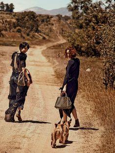 La campagne Louis Vuitton Printemps-été 2014