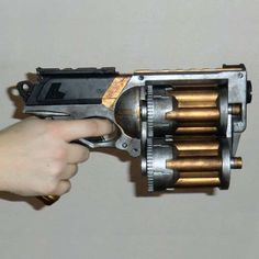18-shot Nerf gun. 'Nuff said.