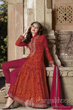 http://www.mangaldeep.co.in/salwar-kameez/bold-crimson-red-is-giving-a-elegant-look-in-semi-stitched-anarkali-suit-7715 For further inquiry call us or Whats App on :: +919377222211