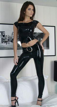 Latex, Leather Pants, Fashion, Leather Jogger Pants, Moda, Fashion Styles, Lederhosen, Leather Leggings, Fashion Illustrations