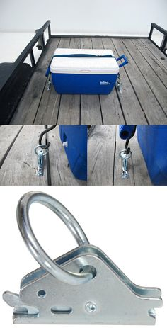 Keep cargo secure and under control on the trailer - snap-loc trailer tie-down anchors. A great idea when It comes to trailer storage.