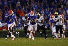 42564b119 USA TODAY Sports Images  NCAA Football  Vanderbilt at Florida Florida Gators  tight end Aaron