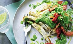Bashed Chicken with Walnut and Watercress Pesto l Joe Wicks Lean in 15, part two