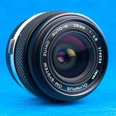 Zuiko 28mm f2.8 Wide Angle Lens OM Mount DSLR Adaptable EOS m43 BMCC