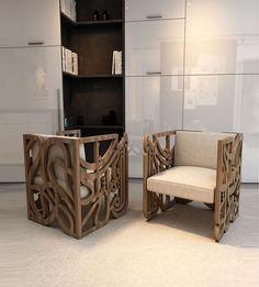 Kashida - Amal Cubic Armchair - Seating - Furniture