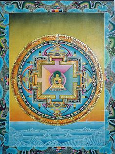 Tibetan Mandala | Sacred Geometry | Buddhism | Religion & Spirituality | Religious Art | Meditation | Enlightenment | Soul Ascension | Sacred Geometry