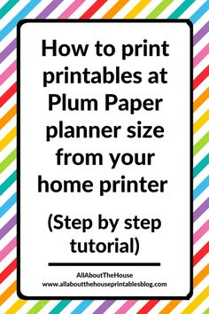 how to make my own planner